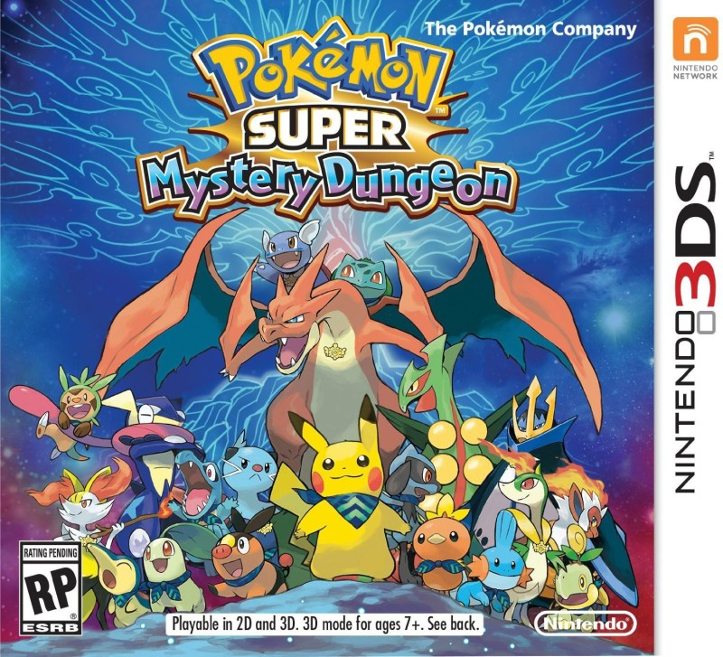 PoKeMoN Super Mystery Dungeon(for 3DS)