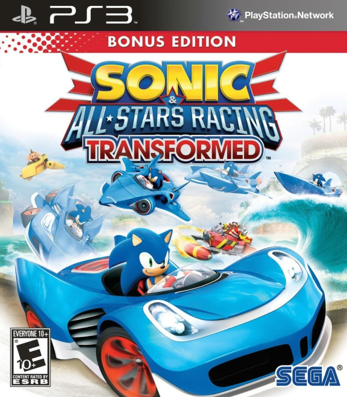 Sonic & All-Stars Racing Transformed (Bonus Edition)(for PS3)