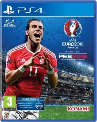 UEFA EURO Pro Evolution Soccer 2016(for PS4)