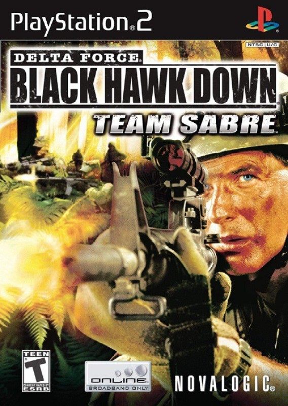 Delta Force Black Hawk Down(for PS2)