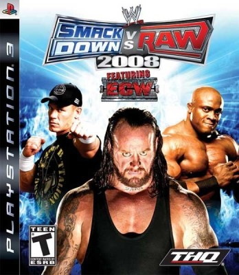 WWE SmackDown Vs Raw 2008 - Featuring ECW