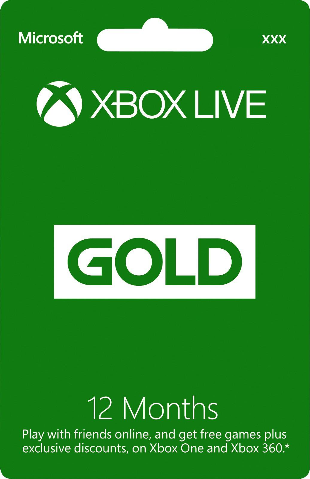 Deals | Xbox Live Membership Card