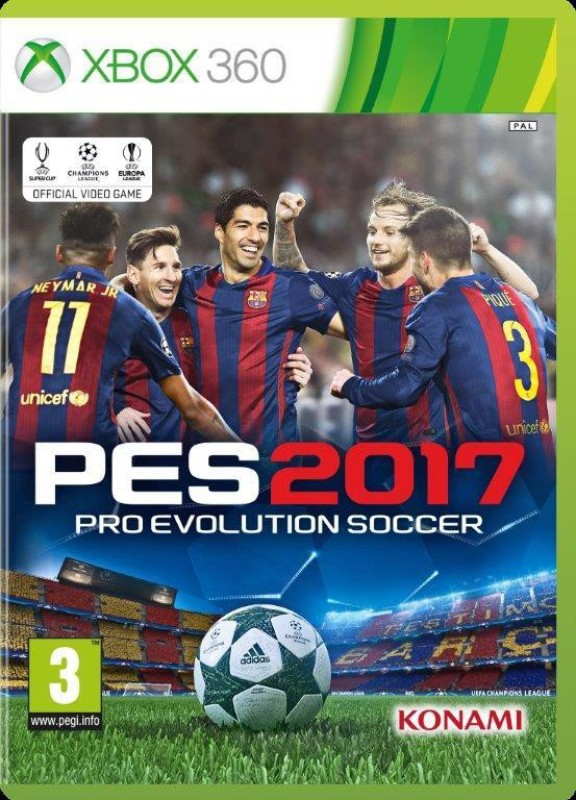 Pro Evolution Soccer 2017(for Xbox 360)