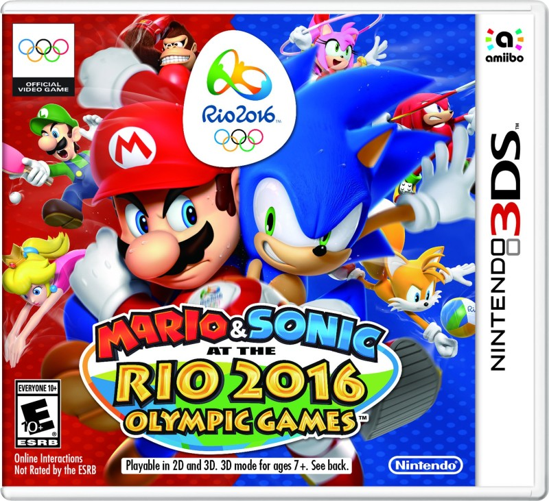 MARIO & SONIC AT THE RIO 2016 OLYMPIC GAMES(for 3DS)