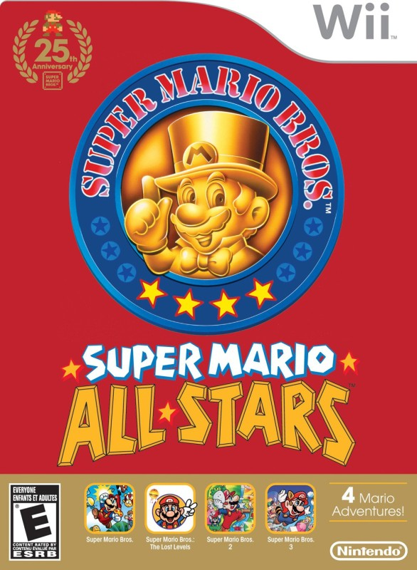 SUPER MARIO ALL STAR(for Wii)