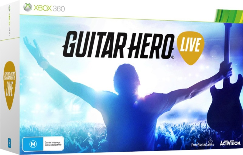 Guitar Hero Live Bundle(for Xbox 360)