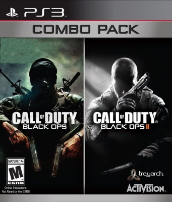 Call of Duty Black Ops Combo Pack (COD Black Ops and COD Black Ops II)(for PS3)