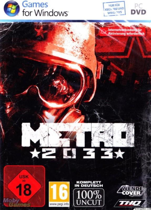 METRO 2033(for PC)