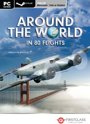Around the World: In 80 Flights (for FSX and FS2004)(Expansion Pack for PC)