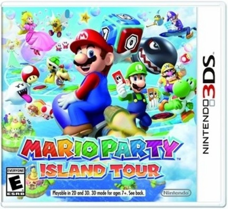 Mario Party Island Tour(for 3DS)