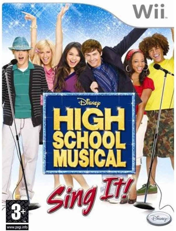 Disney High School Musical Sing It(for Wii)