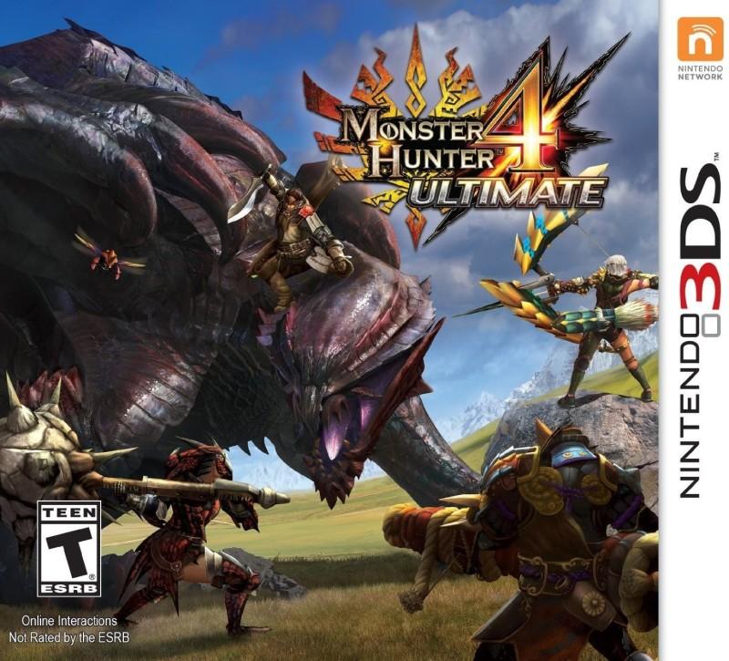 Monster Hunter 4 Ultimate(for 3DS)