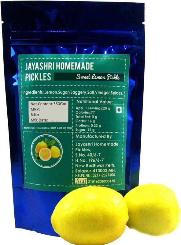 Jayashri's Sweet Lime Pickle(Pack of 1)
