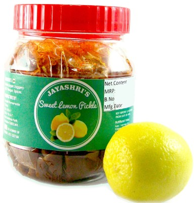 Jayashris Sweet and Sour Lime Pickle(Pack of 1)