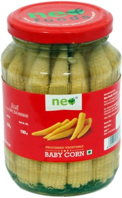 Neo Baby Corn (330 g) Baby Corn Murabba(Pack of 1)