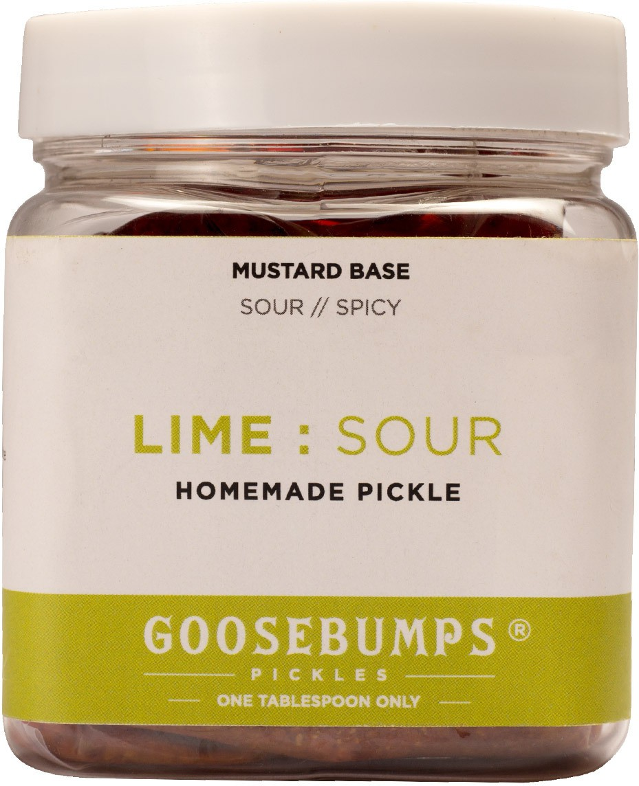 Goosebumps Pickles Homemade (Sour) Lime Pickle