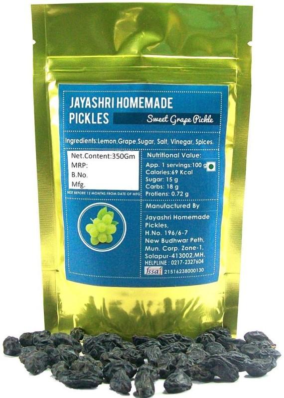 Jayashri's Sweet Grape and Ginger Pickle(Pack of 1)
