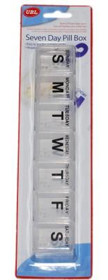 Nanson 7-day UBL Pill Pill Box