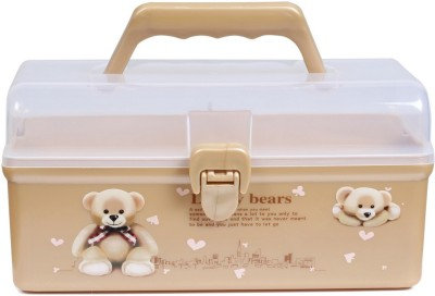 Baby Oodles NA First Aid Box Pill Box(brown & white)