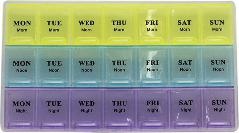 JLT 3 Line 096 Pull Pill Box(Multicolor)