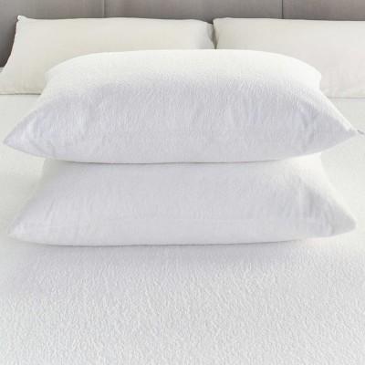 Linenwalas Plain Cotton Filled Standard Size Pillow Protector(1)
