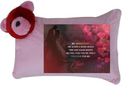 Onlineworld Love Printed Back Cushion