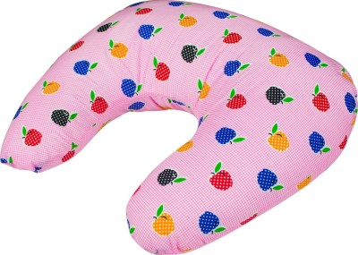 Zura Printed Feeding/Nursing Pillow(Pack of 1, Pink)