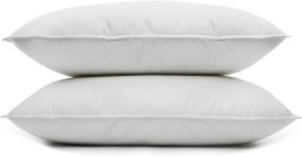 Styletex Plain Bed/Sleeping Pillow Pack of 2(White)
