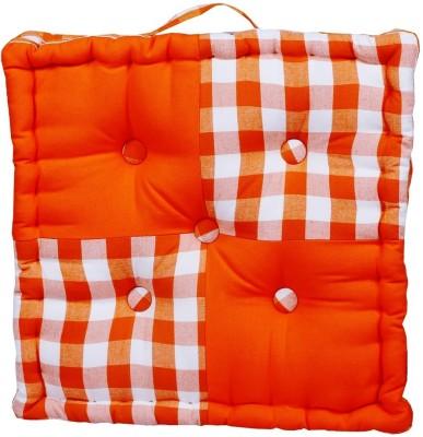 Home Pluss Block Check Floor Cushion