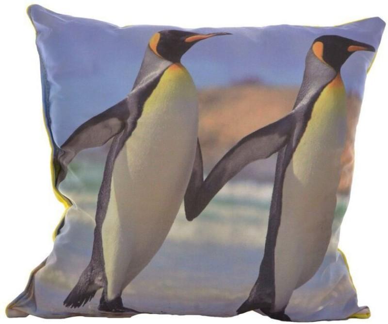Twisha Printed Design Decorative Cushion(Pack of 1, Multicolor, Yellow)