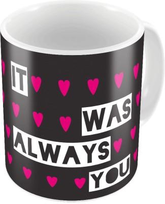 Little India Designer Romantic Printed Coffee  766 Ceramic Mug
