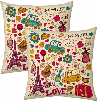 Home India Cartoon Print Decorative Cushion