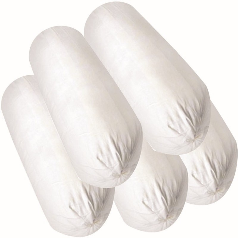 JDX Plain Bolster Pack of 5(White)