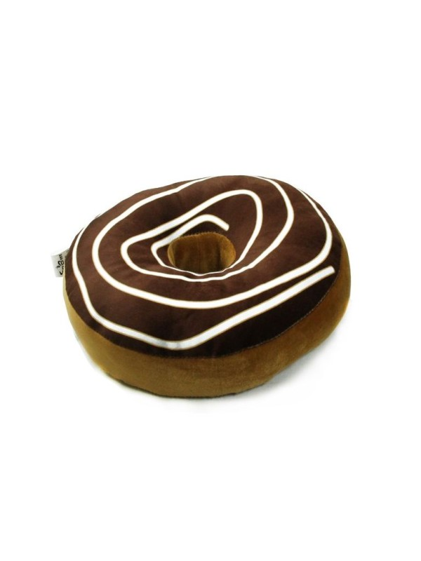 Cosmosgalaxy Doughnut Donut Pillow Pack of 1(Brown)