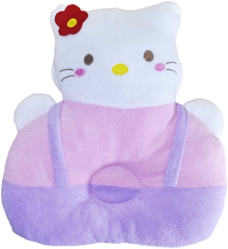Mommas Baby Hello Kitty Decorative Cushion(Pink, Purple)