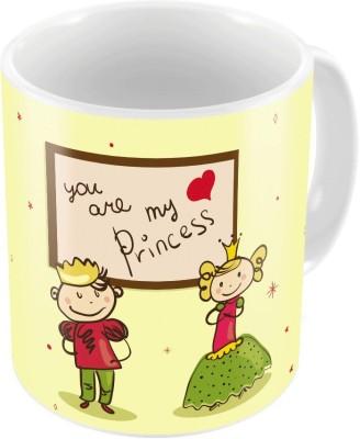 Home India Print Coffee  n Filled Cushion Pair 357 Ceramic Mug