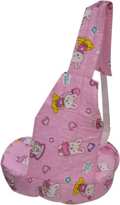 Advance Baby Teddy print half Feeding/Nursing Pillow(Pink)