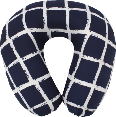 Magasin Box Pattern U -Shaped Memory Foam Travel Pillow