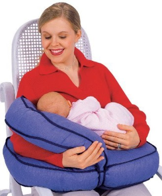 Leachco Plane Feeding/Nursing Pillow(Pack of 1, Denim)