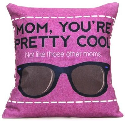 Giftcart Quote Decorative Cushion(Pack of 1, Purple)