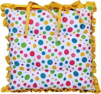 Home Pluss Multi Polka Dots Chair Cushion