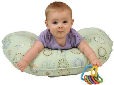 Leachco Sunny Circles Feeding/Nursing Pillow(Pack of 1, Green)