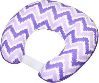 Bacati Geometric Feeding/Nursing Pillow(Pack of 1, Purple)