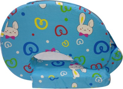 Advance Baby Bunny print full Feeding/Nursing Pillow(Pack of 1, Blue)