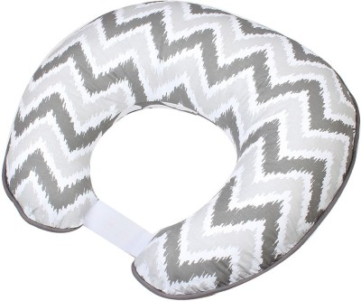 Bacati Geometric Feeding/Nursing Pillow(Pack of 1, Grey)
