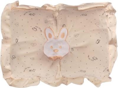 tinny tots BPL-CHN-VLVT-PEACH Bed/Sleeping Pillow