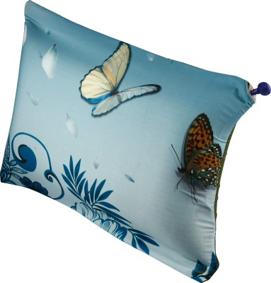 Nostaljia Abstract Air Pillow(Pack of 1, Blue3)