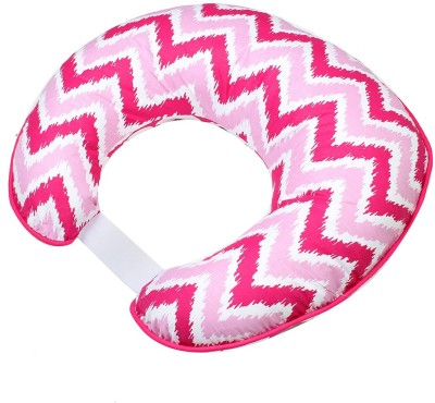 Bacati Geometric Feeding/Nursing Pillow(Pack of 1, Pink)