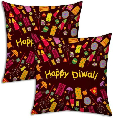 Little India Alphabetics Print Decorative Cushion