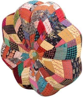 Goyal Textiles Abstract Pouffe